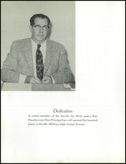 Page 8, 1959 Edition, Mount Whitney High School - Oak Yearbook (Visalia, CA) online yearbook collection