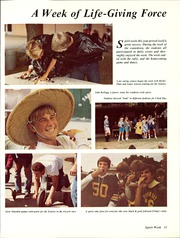 Page 15, 1985 Edition, Mission Bay High School - Taroga Yearbook (San Diego, CA) online yearbook collection