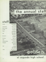 Page 8, 1958 Edition, El Segundo High School - Golden Eagle Yearbook (El Segundo, CA) online yearbook collection