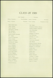 Page 12, 1909 Edition, Fresno High School - Owl Yearbook (Fresno, CA) online yearbook collection