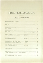 Page 5, 1909 Edition, Fresno High School - Owl Yearbook (Fresno, CA) online yearbook collection