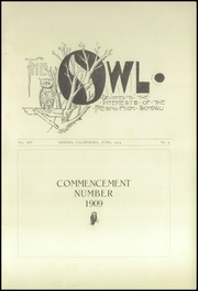 Page 7, 1909 Edition, Fresno High School - Owl Yearbook (Fresno, CA) online yearbook collection