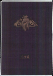 Page 1, 1929 Edition, Fresno High School - Owl Yearbook (Fresno, CA) online yearbook collection