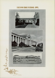 Page 14, 1930 Edition, Fresno High School - Owl Yearbook (Fresno, CA) online yearbook collection