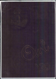 Fresno High School - Owl Yearbook (Fresno, CA) online yearbook collection, 1939 Edition, Page 1