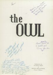 Page 5, 1948 Edition, Fresno High School - Owl Yearbook (Fresno, CA) online yearbook collection