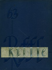 1963 Edition, El Dorado High School - Riffle Yearbook (Placerville, CA)