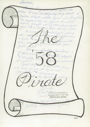 Page 5, 1958 Edition, Pittsburg High School - Pirate Yearbook (Pittsburg, CA) online yearbook collection