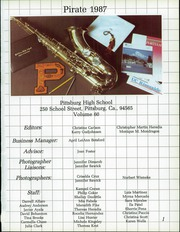 Page 5, 1987 Edition, Pittsburg High School - Pirate Yearbook (Pittsburg, CA) online yearbook collection