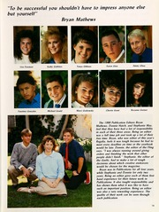 Page 23, 1988 Edition, Highland High School - Regalia Yearbook (Bakersfield, CA) online yearbook collection