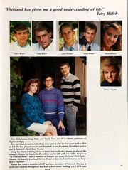 Page 33, 1988 Edition, Highland High School - Regalia Yearbook (Bakersfield, CA) online yearbook collection