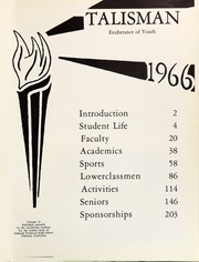 Page 5, 1966 Edition, Oakland Technical High School - Talisman Yearbook (Oakland, CA) online yearbook collection