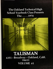 Page 5, 1976 Edition, Oakland Technical High School - Talisman Yearbook (Oakland, CA) online yearbook collection