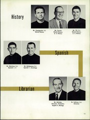 Page 17, 1959 Edition, St Ignatius College Preparatory - Ignatian Yearbook (San Francisco, CA) online yearbook collection