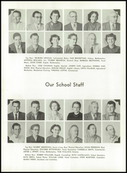Page 10, 1956 Edition, Los Banos High School - El Pacheco Yearbook (Los Banos, CA) online yearbook collection