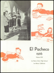 Page 5, 1956 Edition, Los Banos High School - El Pacheco Yearbook (Los Banos, CA) online yearbook collection