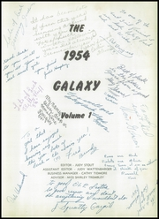 Page 7, 1954 Edition, North High School - Galaxy Yearbook (Bakersfield, CA) online yearbook collection
