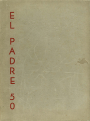 Carmel High School - El Padre Yearbook (Carmel, CA) online yearbook collection, 1950 Edition, Page 1