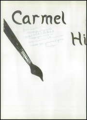Page 6, 1951 Edition, Carmel High School - El Padre Yearbook (Carmel, CA) online yearbook collection