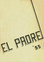 Carmel High School - El Padre Yearbook (Carmel, CA) online yearbook collection, 1955 Edition, Page 1