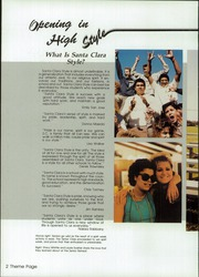 Page 6, 1986 Edition, Santa Clara High School - Onward Yearbook (Oxnard, CA) online yearbook collection