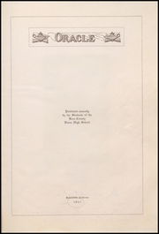 Page 13, 1917 Edition, Bakersfield High School - Oracle Yearbook (Bakersfield, CA) online yearbook collection