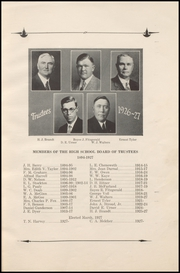 Page 9, 1927 Edition, Bakersfield High School - Oracle Yearbook (Bakersfield, CA) online yearbook collection