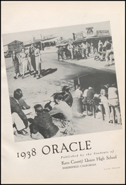 Page 9, 1938 Edition, Bakersfield High School - Oracle Yearbook (Bakersfield, CA) online yearbook collection