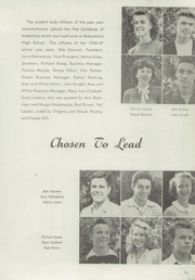 Page 17, 1947 Edition, Bakersfield High School - Oracle Yearbook (Bakersfield, CA) online yearbook collection