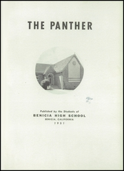 Page 5, 1951 Edition, Benicia High School - Panther Yearbook (Benicia, CA) online yearbook collection