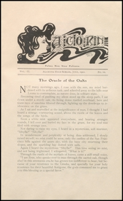 Page 11, 1902 Edition, Alameda High School - Acorn Yearbook (Alameda, CA) online yearbook collection