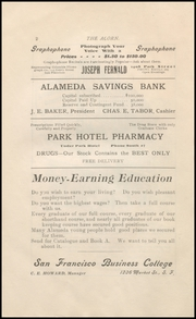 Page 6, 1902 Edition, Alameda High School - Acorn Yearbook (Alameda, CA) online yearbook collection