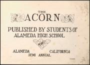 Page 3, 1912 Edition, Alameda High School - Acorn Yearbook (Alameda, CA) online yearbook collection