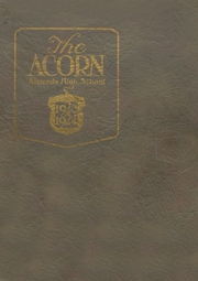 Alameda High School - Acorn Yearbook (Alameda, CA) online yearbook collection, 1924 Edition, Page 1