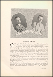 Page 12, 1926 Edition, Alameda High School - Acorn Yearbook (Alameda, CA) online yearbook collection