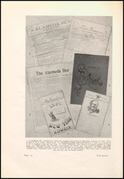 Page 16, 1927 Edition, Alameda High School - Acorn Yearbook (Alameda, CA) online yearbook collection
