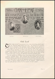 Page 17, 1927 Edition, Alameda High School - Acorn Yearbook (Alameda, CA) online yearbook collection