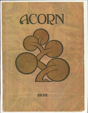 Alameda High School - Acorn Yearbook (Alameda, CA) online yearbook collection, 1930 Edition, Page 1