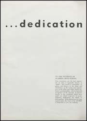Page 8, 1950 Edition, Alameda High School - Acorn Yearbook (Alameda, CA) online yearbook collection
