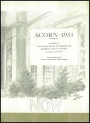 Page 7, 1953 Edition, Alameda High School - Acorn Yearbook (Alameda, CA) online yearbook collection