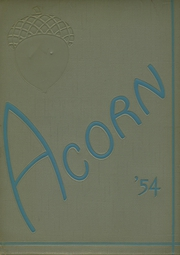 Page 1, 1954 Edition, Alameda High School - Acorn Yearbook (Alameda, CA) online yearbook collection