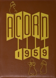 Page 1, 1959 Edition, Alameda High School - Acorn Yearbook (Alameda, CA) online yearbook collection