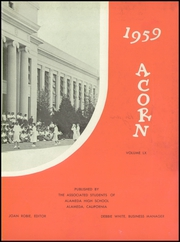 Page 7, 1959 Edition, Alameda High School - Acorn Yearbook (Alameda, CA) online yearbook collection