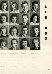 Page 13, 1945 Edition, Albany High School - Cougar Yearbook (Albany, CA) online yearbook collection