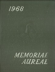Gahr High School - Memoriae Aureae Yearbook (Cerritos, CA) online yearbook collection, 1968 Edition, Page 1