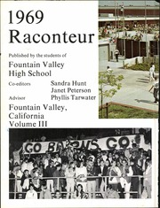 Page 8, 1969 Edition, Fountain Valley High School - Raconteur Yearbook (Fountain Valley, CA) online yearbook collection