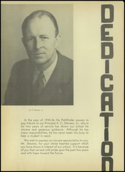 Page 6, 1946 Edition, Fremont High School - Pathfinder Yearbook (Sunnyvale, CA) online yearbook collection