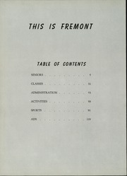Page 6, 1959 Edition, Fremont High School - Pathfinder Yearbook (Sunnyvale, CA) online yearbook collection
