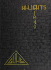 Page 1, 1940 Edition, Galt High School - Highlights Yearbook (Galt, CA) online yearbook collection