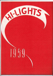 Page 1, 1959 Edition, Galt High School - Highlights Yearbook (Galt, CA) online yearbook collection